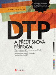 DTP a předtisková příprava (obálka knihy)