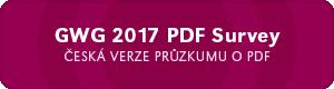 GWG 2017 PDF Survey – česká verze průzkumu
